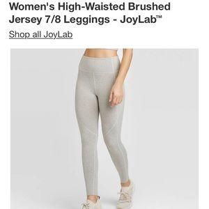 Joy Lab High Waisted Gray Leggings size XL